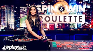 spin and win roulette playtech